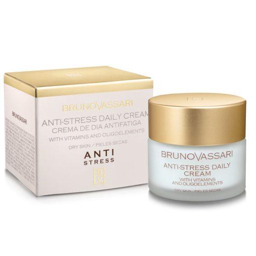 ANTI STRESS DAY CREAM – Nappali arckrém nyomelemekkel száraz bőrre