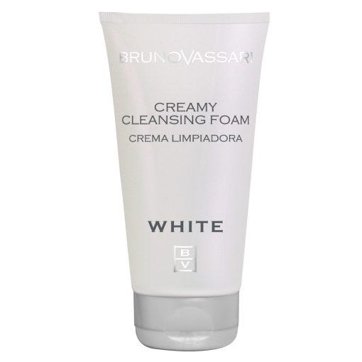 WHITE - CREAMY CLEANSING FOAM – krémes tisztító hab