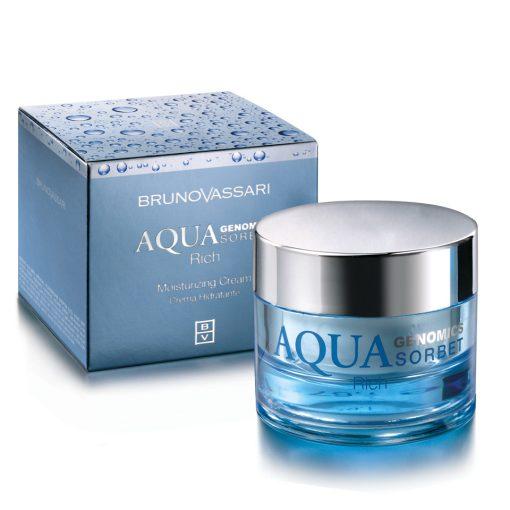 AQUA GENOMICS - AQUA RICH SORBET – Hidratáló arckrém száraz bőrre