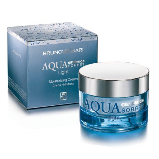 AQUA GENOMICS - AQUA LIGHT SORBET – Hidratáló arckrém normál és zsíros bőrre
