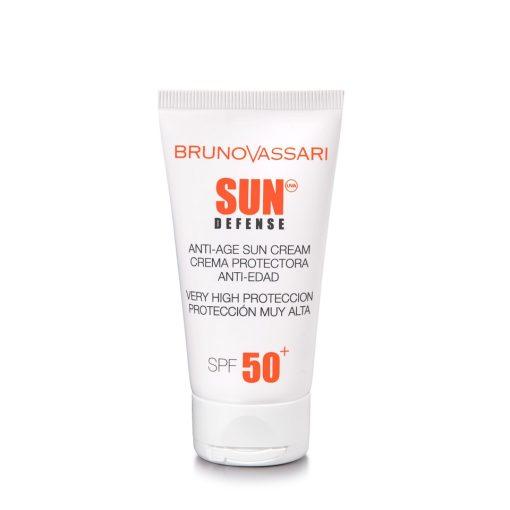 SUN DEFENSE - ANTI AGE SUN CREAM SPF 50+ – Extra magas fényvédő faktorú anti age napkrém arcra és nyakra
