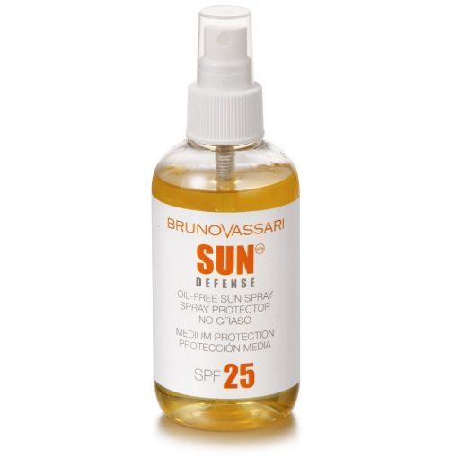 SUN DEFENSE - OIL-FREE SUN SPRAY SPF 25 – Olajmentes napozó spray