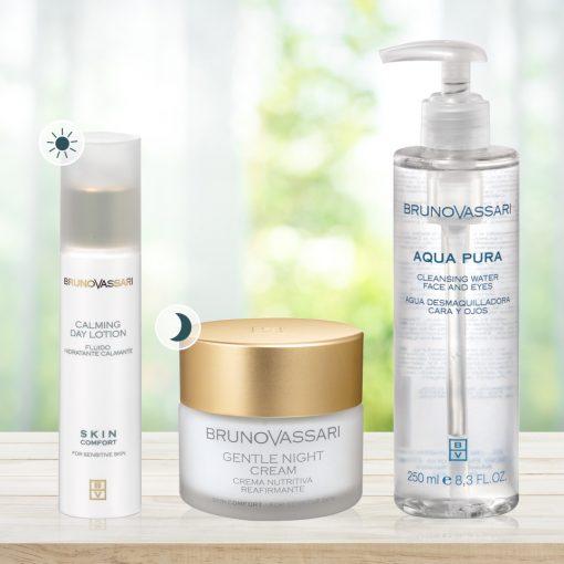 Csomag érzékeny, viszkető, húzódó bőr ápolására